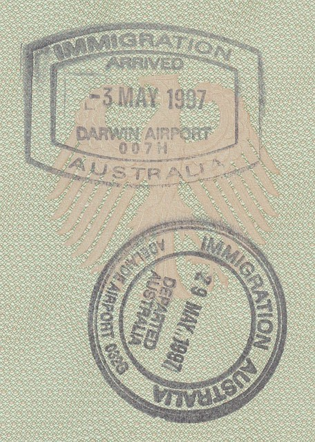 Darwin and Adelaide Airport