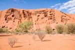 Detailaufnahme des Uluru