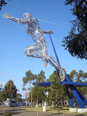 Sydney Olympic Park Athlete.JPG